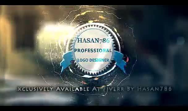 create Fireball Animated HD Logo Reveal Intro