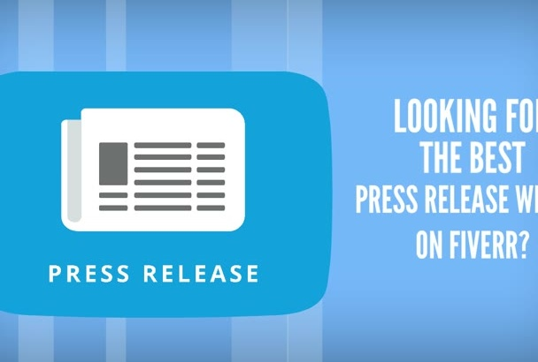 write a KILLER press release of 500 words in 24 hours
