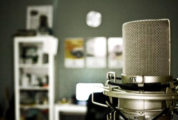 record the PERFECT arabic male voice over