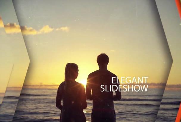 make you a professional and elegant slideshow