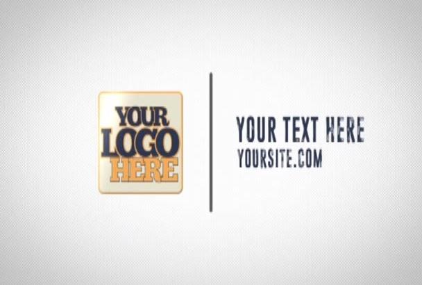 make a Minimal Corporate Intro