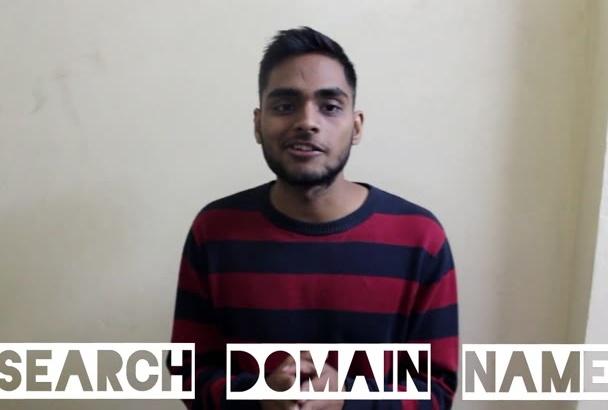 research SEO friendly keyword Domain name
