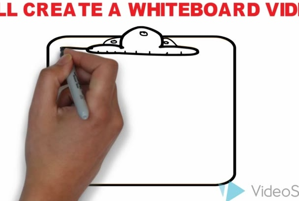 create a professional whiteboard video