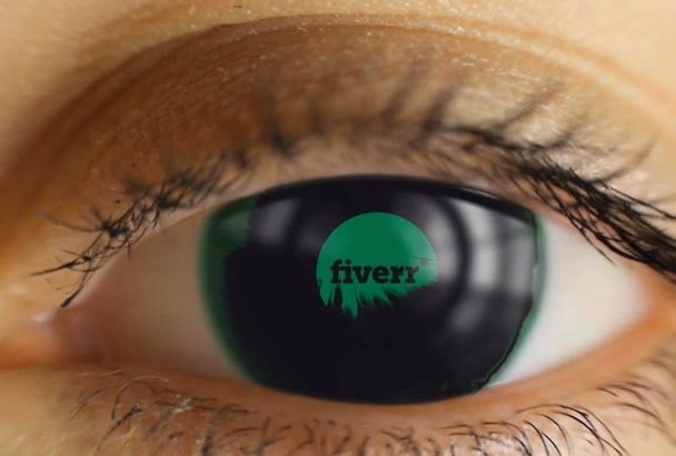 create two amazing Eye video intros using your logo