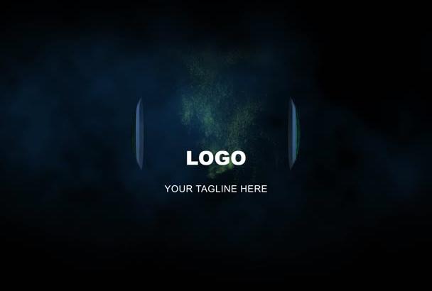 create a futuristic sphere logo opener