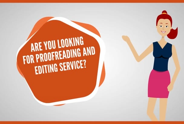 professionally proofread and edit up to 1500 words