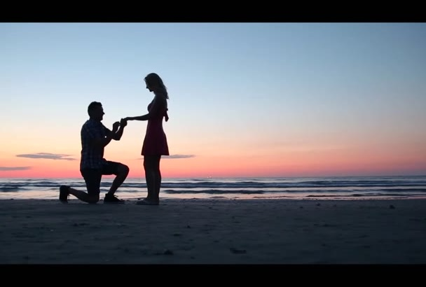 create a ROMANTIC happy music video for your song