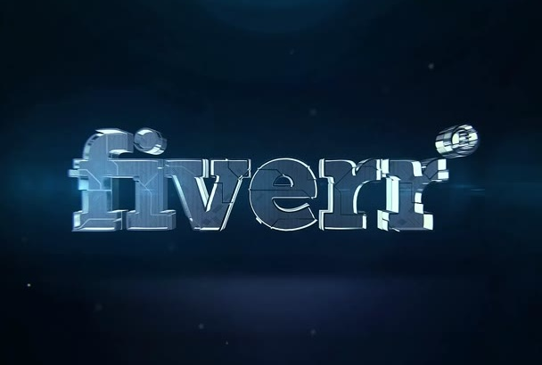 metal Element Logo 3d