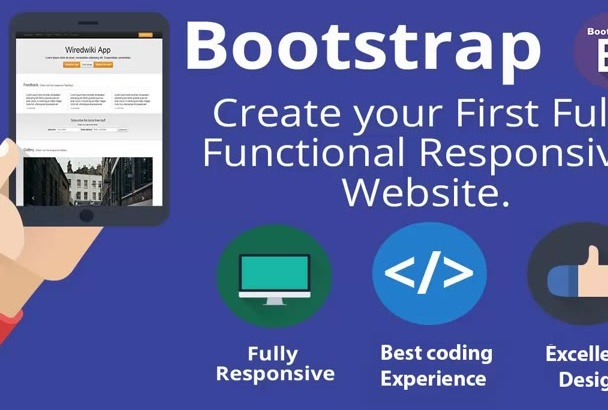 convert psd to responsive bootstrap htm5