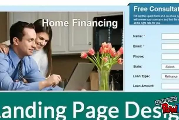 create Professional Landing page or Squeeze page within 24 hours