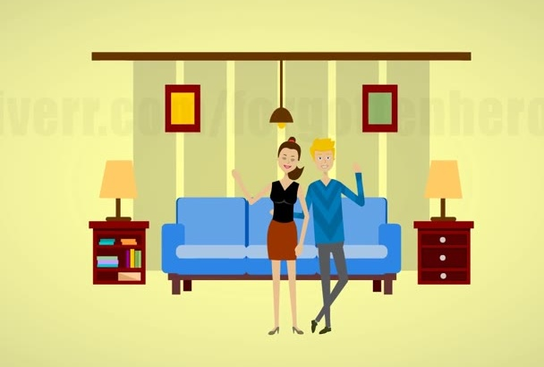 real estate animation video for your agency