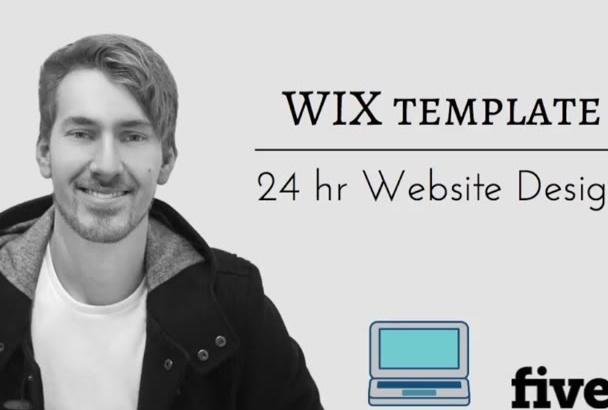 design a HD wix website in 48 hours