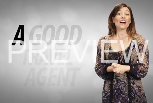 create an amazing travel agent ad with 10 actors