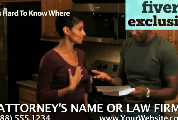 personalize a video for a Divorce Attorney