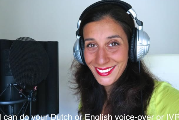 record a Dutch voicemail or IVR for you