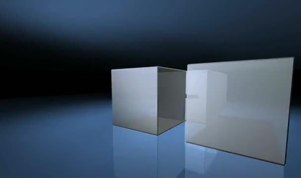 create intro in SHUFFLING box effect