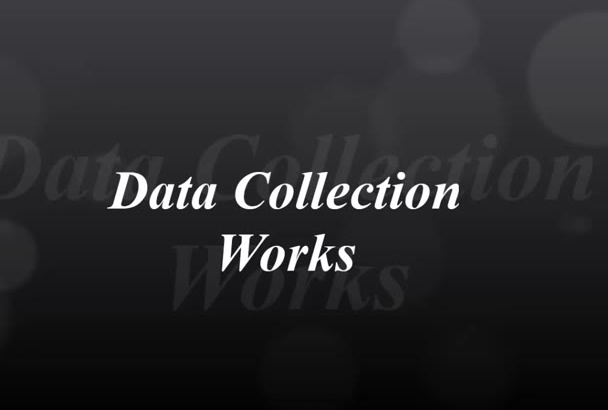 do Data Scraping, Mining and Extraction from Any Sources