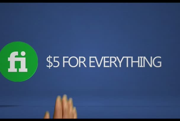 make a finger tipped company logo reveal video