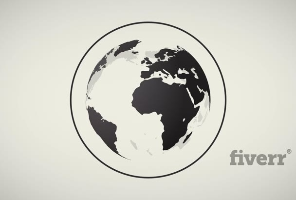 3d Elegant Stylish Earth Spin Logo Text Reveal Video Intro