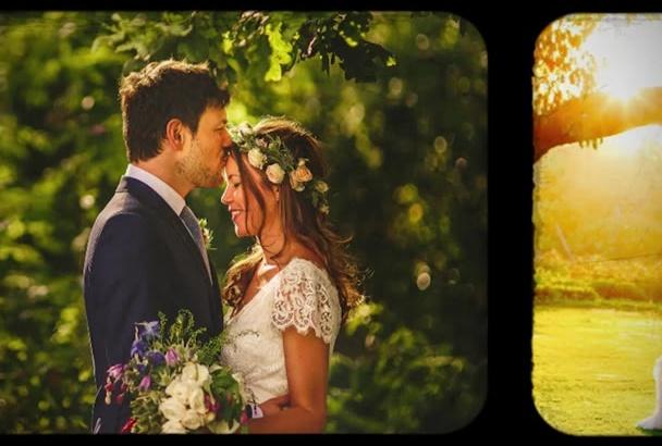 design Loving Wedding Anniversary Video Gift