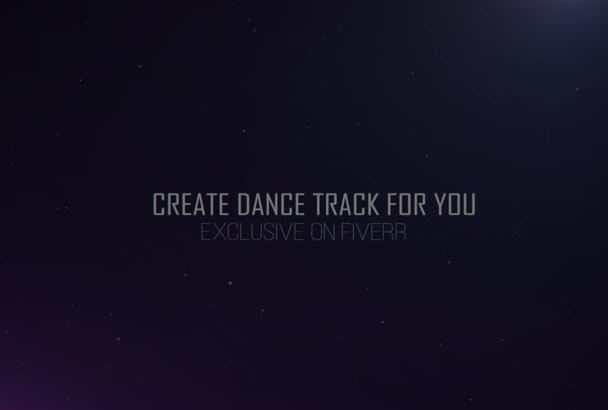 produce Dance track for you