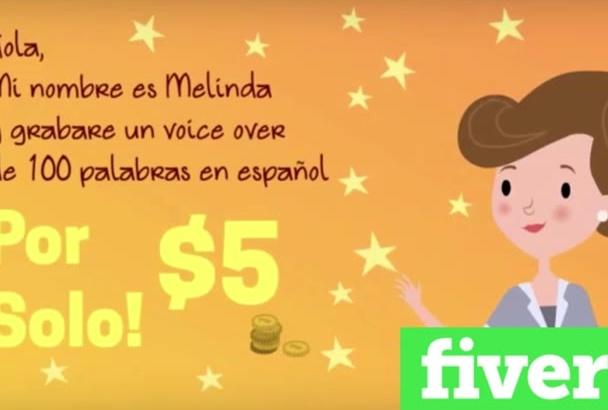 grabar una promo UNICA para tu radio en español