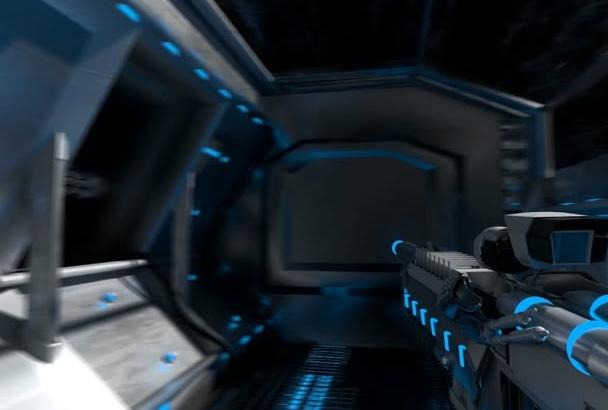 create Custom Designed Sci Fi Video Animations