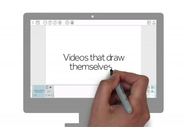 give whiteboard video maker or easy sketch pro full software