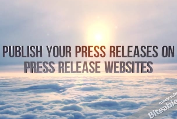 publish your press releases on 7 press release websites