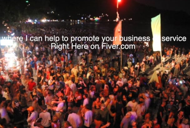 promote your business or service on my website for low price