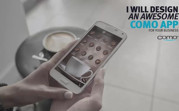 design an awesome Como Mobile App for your business