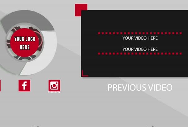 provide you with an HD outro for your YouTube videos