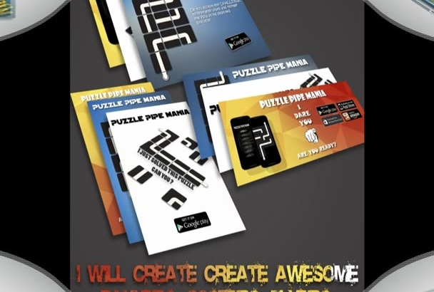 create Awesome Banners, Posters, Flyers, Covers