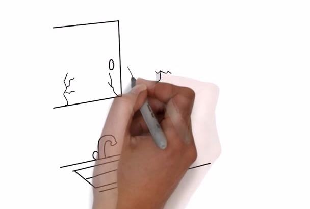 create This Handyman White Board Video