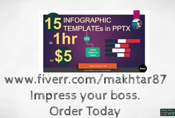 shoot 15 Infographic templates in PPTx in 1 hour for you to impress ur audience