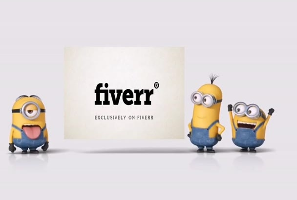 advertise your logo with minions