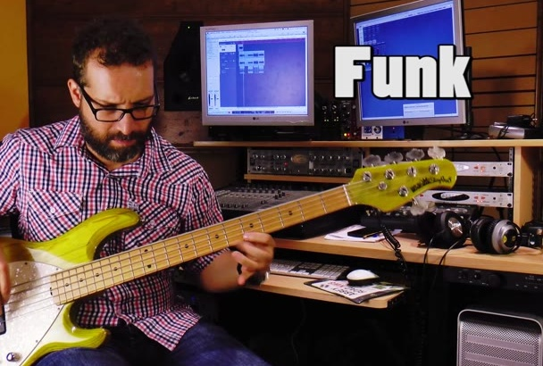 record a professional electric bass