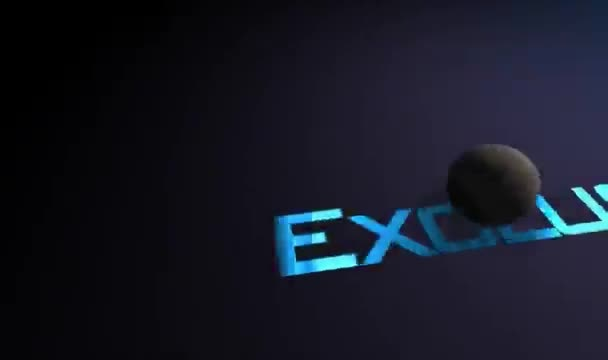make a custom chain reaction cinematic intro 3D video with your text and logo
