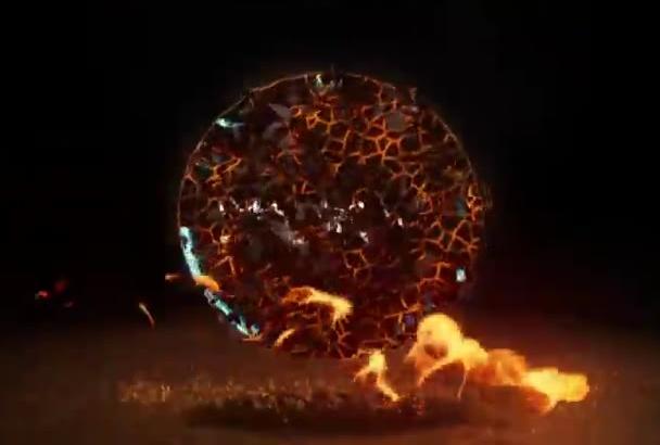 make FIRE Logo Video Intro