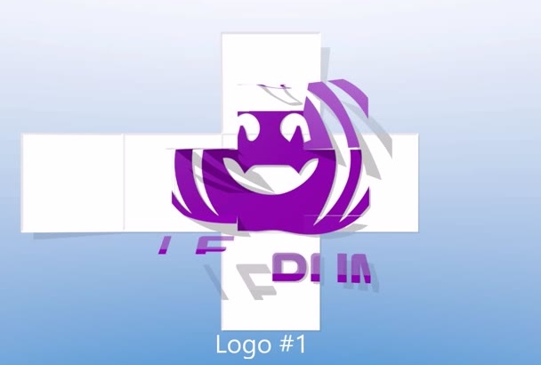 create 5 Professional Logo Animation Video Intro in HD