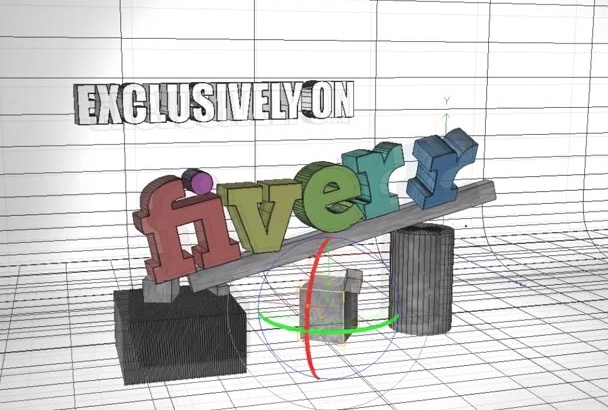 convert your 2D logo into a 3D
