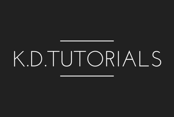make a fabulous video tutorial for anything