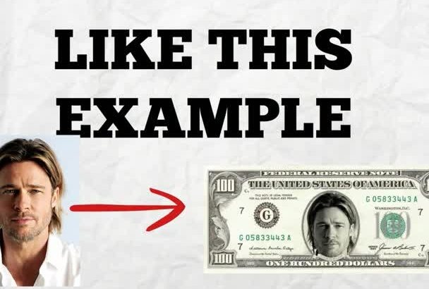 add picture on 100 bill