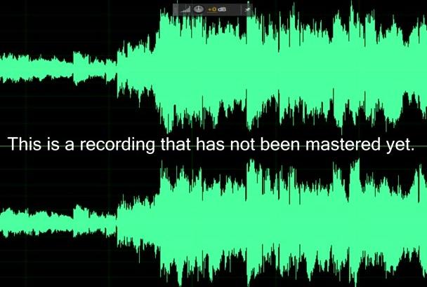 mastering and Audio editing