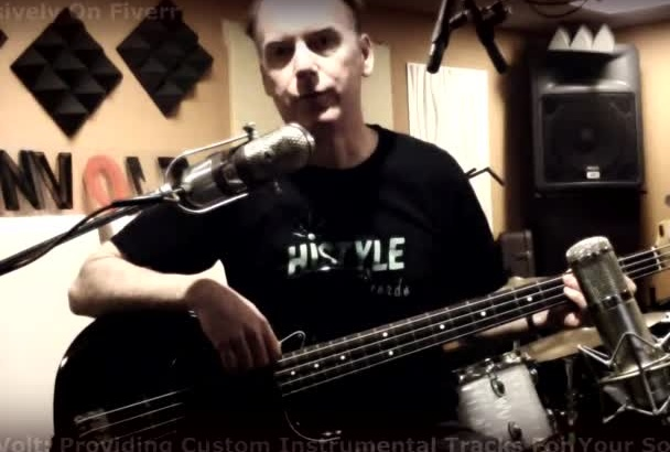 play electric bass on your song