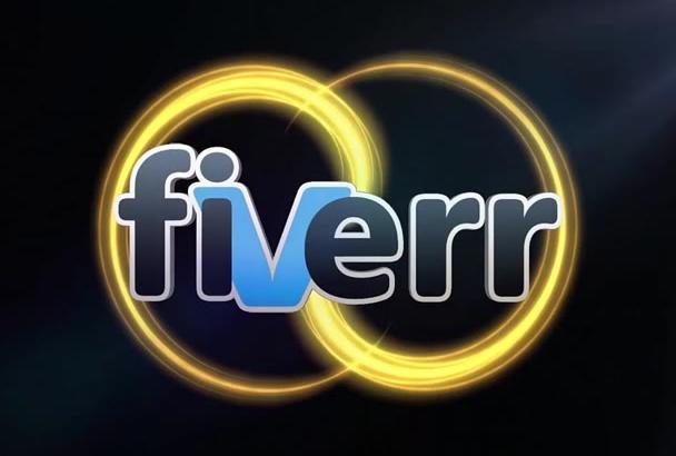 create this logo Intro Video