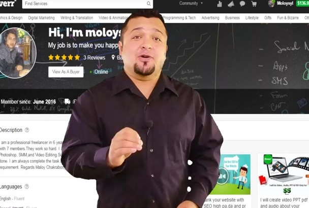create video PPT pdf and audio about your website
