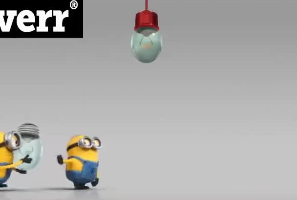 make Your Logo Appear in this Awesome Despicable me 2 video