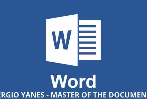 do any job in Microsoft Word