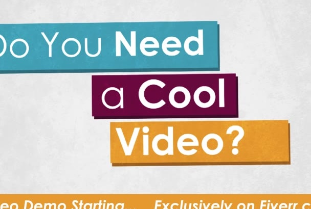design Your Energetic Services Promotion Video in HD 1080P